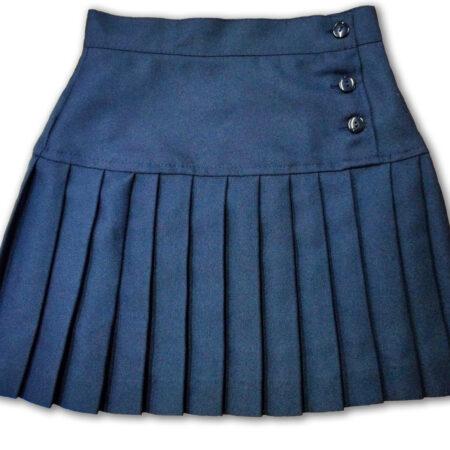 falda escolar golden plisada