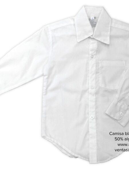 camisa blanca manga larga uniformes Gomez