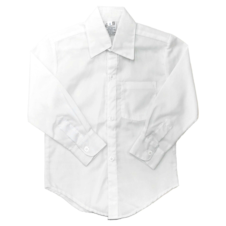 camisa manga larga gomez escolar