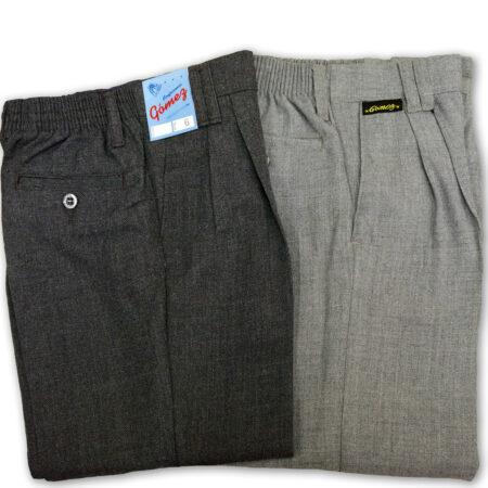 Pantalon Casimir polilana gris uniforme escolar