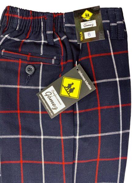 Pantalon escolar cuadros escocés gomez A004
