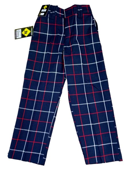 Pantalon escolar escocés gomez A004 vinca